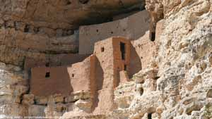 Montezuma's Castle - Screen Background