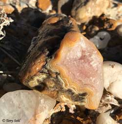 Fairburn Agate - Pink Quartz
