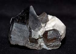 Smoky Quartz, Feldspar, and Phenakite